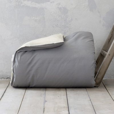 Παπλωματοθήκη Γίγας Colors Earth Beige/Shadow Gray Nima Home