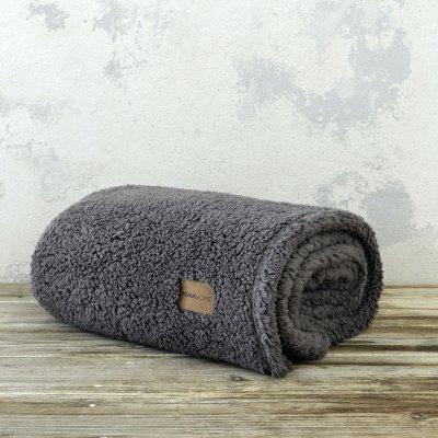 Κουβέρτα Fleece Καναπέ Manta Dark Gray Nima Home