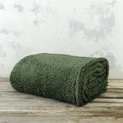 Κουβέρτα Fleece Υπέρδιπλη Manta Forest Green Nima Home