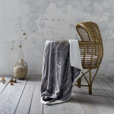 Κουβέρτα Fleece Λίκνου Tiddles Nima Home