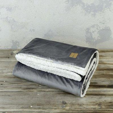 Κουβέρτα - Ριχτάρι Καναπέ Nuan Dark Gray Nima Home