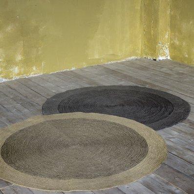 Στρογγυλό Χαλί (R90) Bergren Gray Nima Home