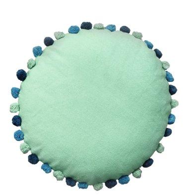 Στρογγυλό Διακοσμητικό Μαξιλάρι Δαπέδου Sprinkle Mint Palamaiki