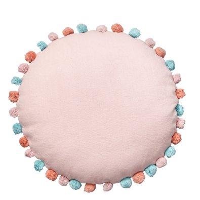 Στρογγυλό Διακοσμητικό Μαξιλάρι Δαπέδου Sprinkle Pink Palamaiki