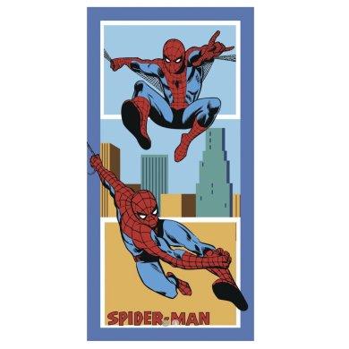 Παιδική Πετσέτα Θαλάσσης Spiderman America Palamaiki
