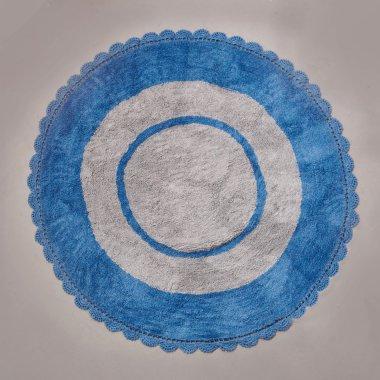Παιδικό Στρογγυλό Χαλί (Ø140) Target Blue Palamaiki