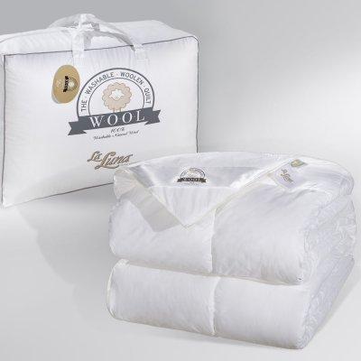 Πάπλωμα Μάλλινο Υπέρδιπλο Wool Natural La Luna