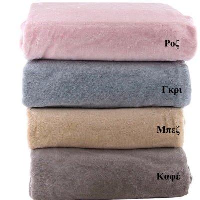 Κουβέρτα Fleece Υπέρδιπλη 806 Adam Home