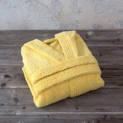 Παιδικό Μπουρνούζι Wizard Sunny Yellow Nima Kids